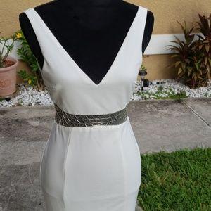 Lulus stunning white dress